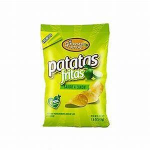 Papas de Limon Doos 6 x 65 Gram