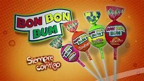 Bon Bon Bum Surtido  Doos 6 bolsas x 24 c/u