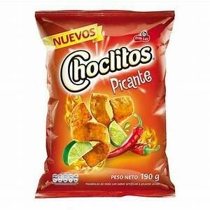 Choclitos Picantes Doos 8 x 30 Gram