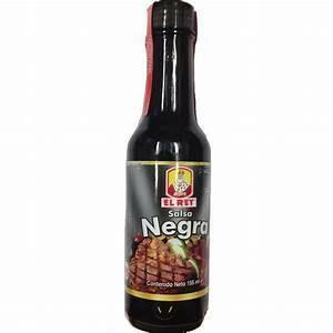 Salsa Negra El  Rey Doos 12 x 155 Gram c/u