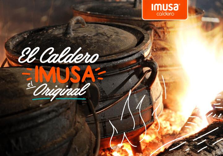 Caldero # 5 Marca Imusa / capacidad 3,5 Litros