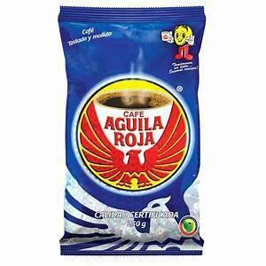 Coffe Aguila Roja Doos  x 25 Bolsas 280 Gram c/u