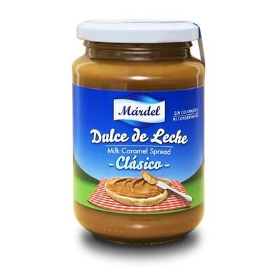 Dulce de Leche Mardel Clasico / Doos 12 potes x 250 Gram c/u