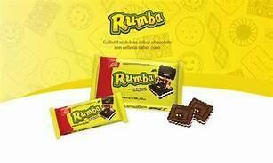 Galletas Rumba Doos 18 x 112 Gram c/u
