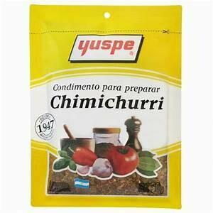 Chimichurri Yuspe Doos 24 zak  van 50 Gram per zak