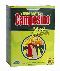 Campesino Menta Limon Doos 10 x 500 Gram c/u