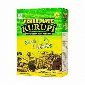 Kurupí Menta Limon Doos 12 x 500 Gram c/u