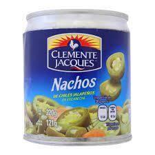 Jalapeños Nacho Chica en Lata 48 x 220 Gram
