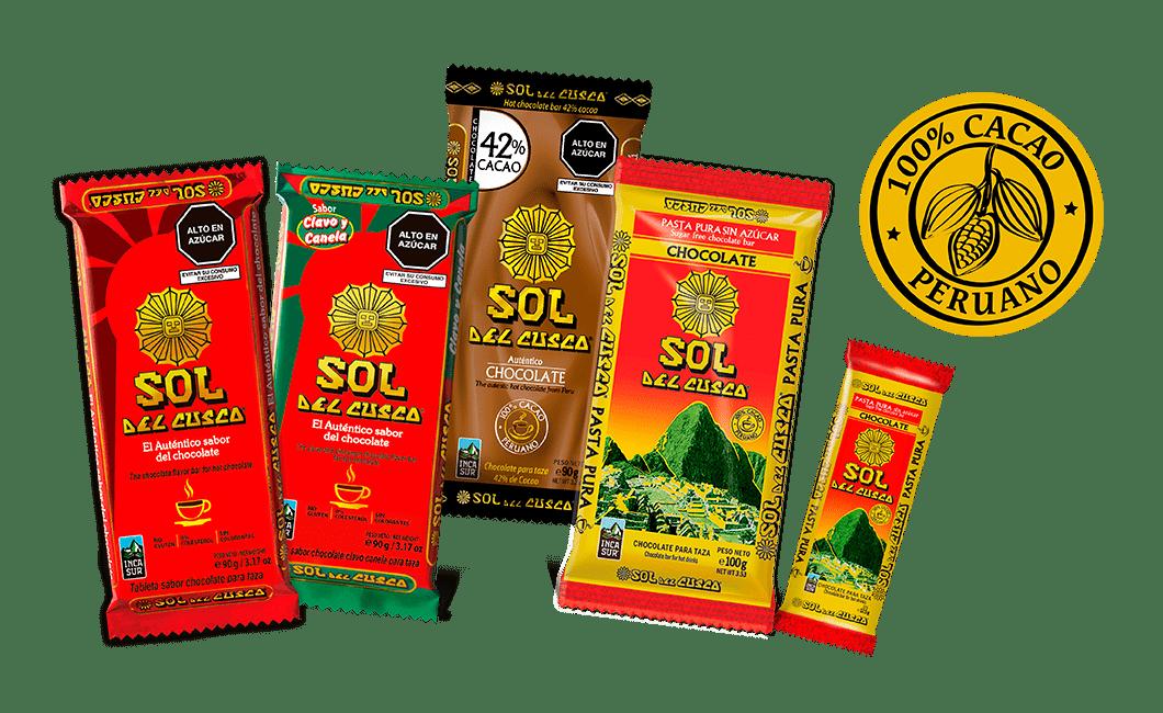Catalogo de productos sol del Cuzco