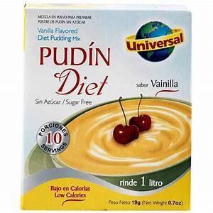 Pudin Diet 19 Gram (2 Display x 12 unid) Rinde 1 litro *Libre de Gluten*