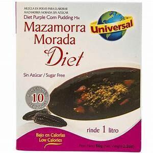 Mazamorra Diet 60 Gram (2 Display x 12 unid) Rinde 1 litro *Libre de Gluten*