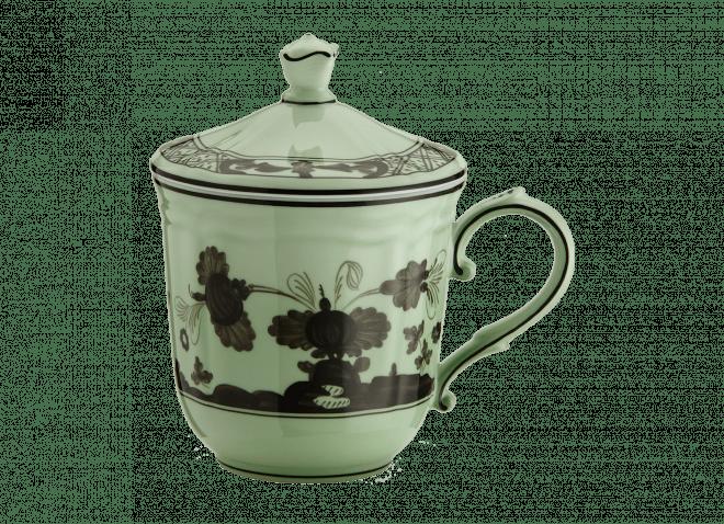 GINORI mug con coperchio Oriente Italiano