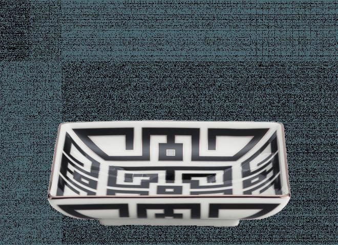 GINORI coppa 13,5cm Labirinto nero