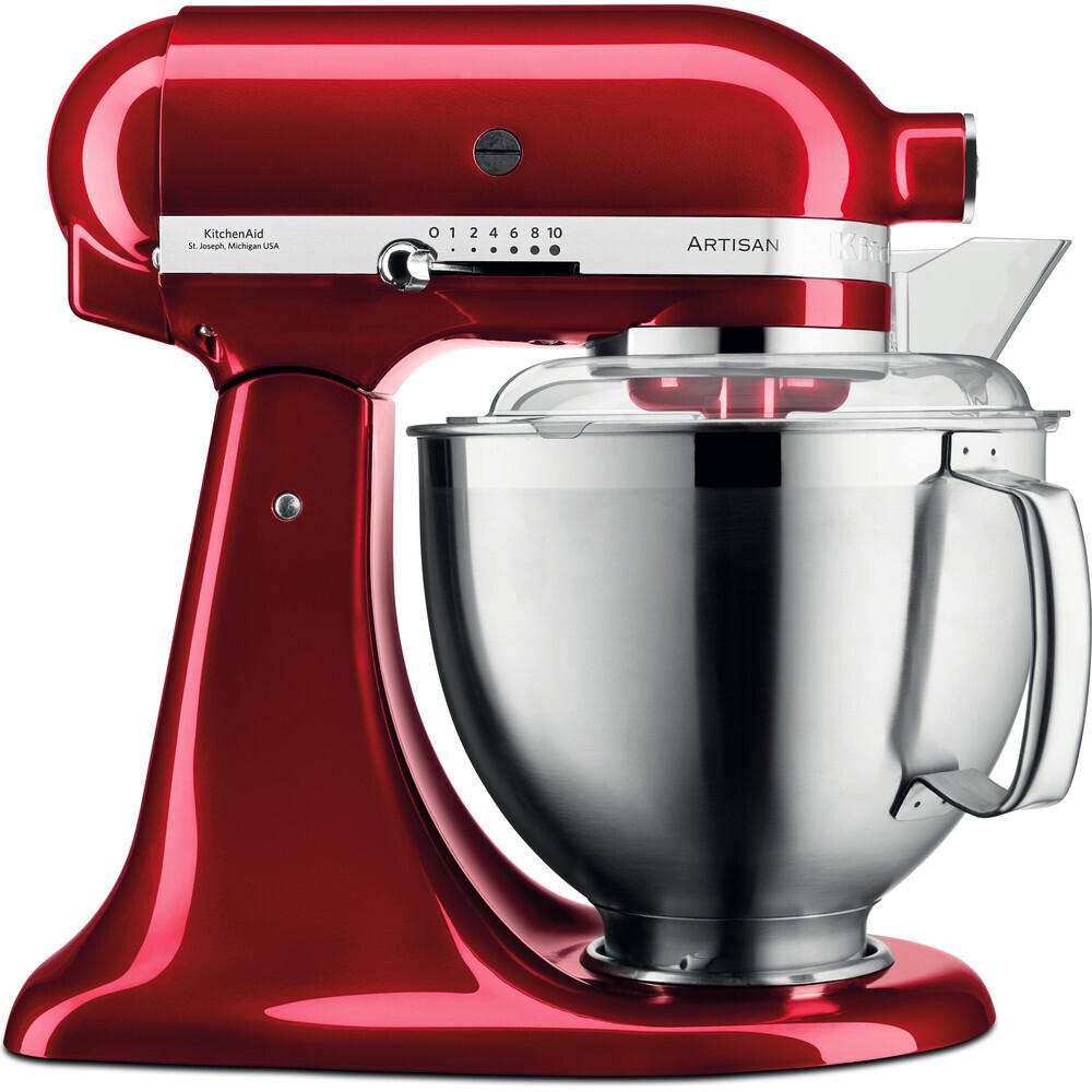 KitchenAid - Planetaria 4,8 l Rosso Mela Metallizzato - Artisan Premium