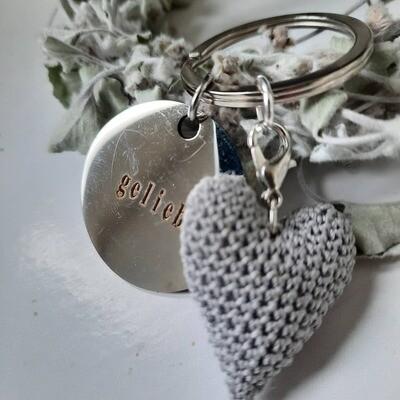 """Schlüsselanhänger """"geliebt"""""""