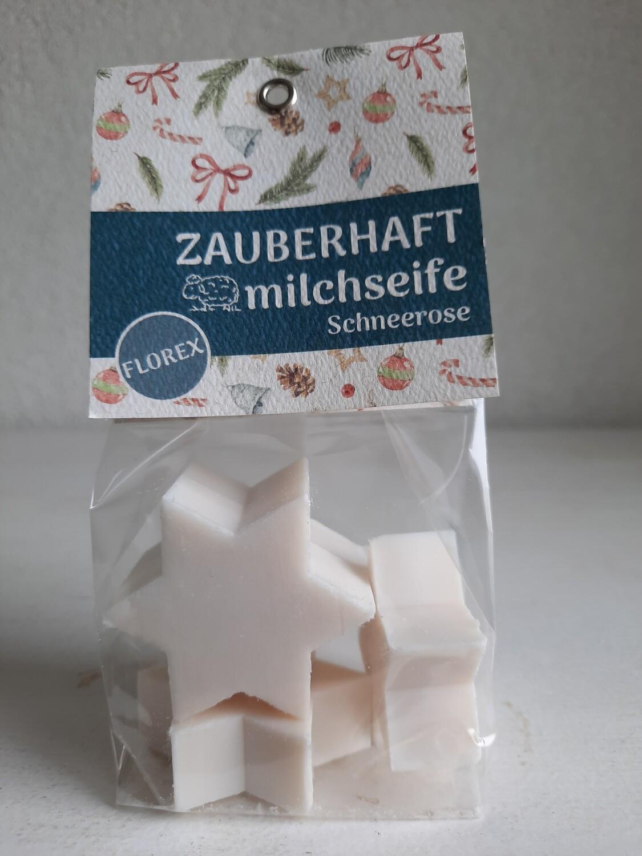 """Schafmilchseife """"Schneerose"""" 4 Sterne"""