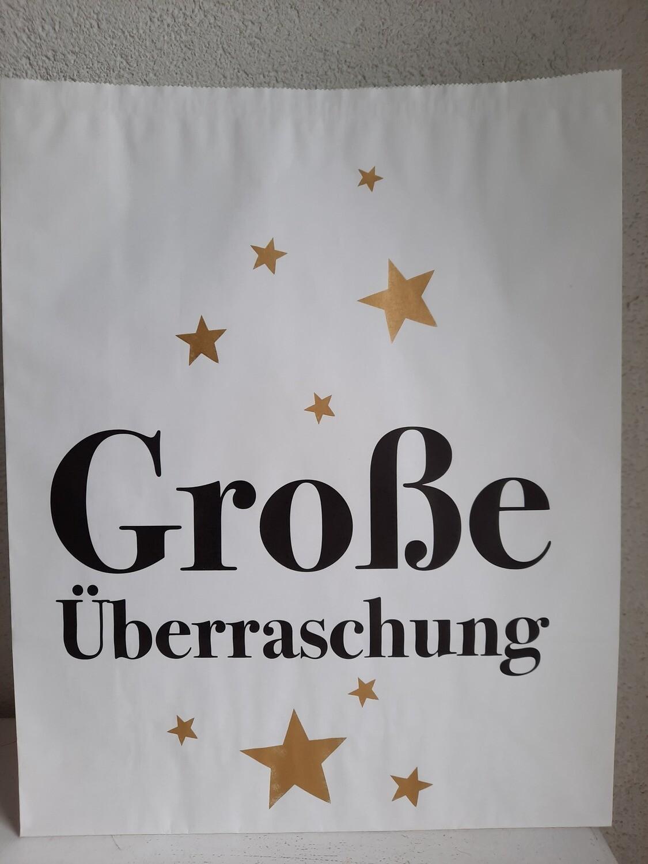 """Tüte """"grosse Überraschung"""""""