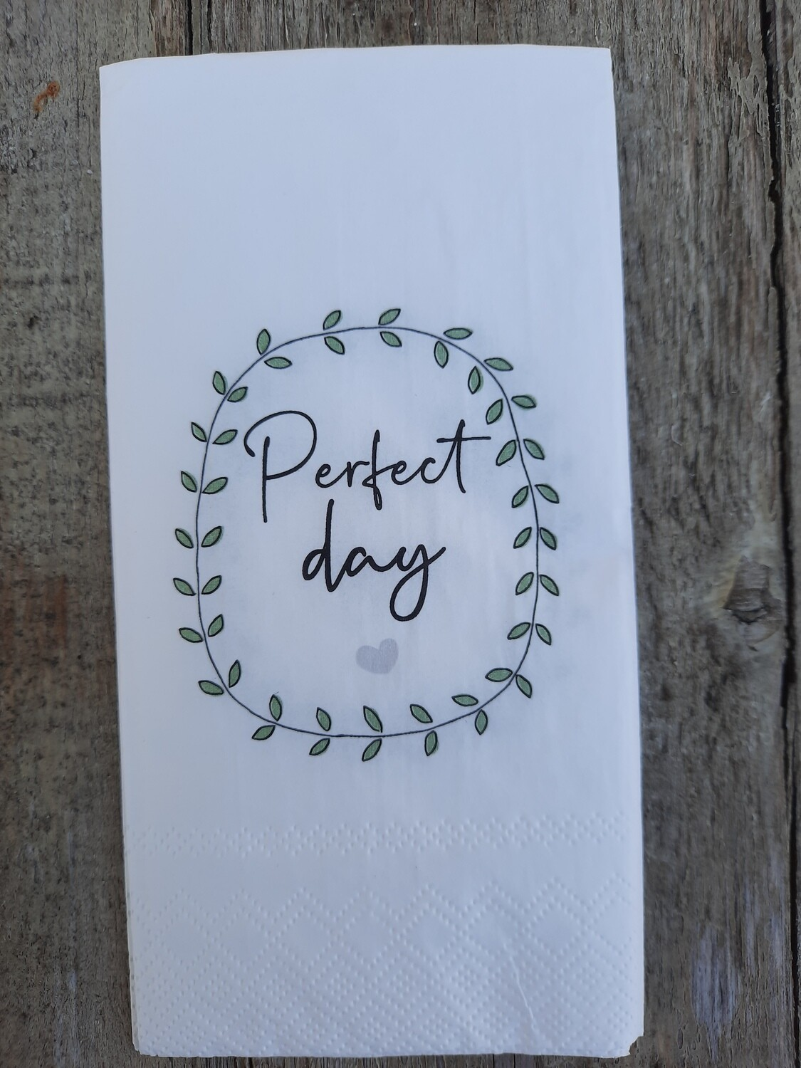 "Servietten ""perfect day"""