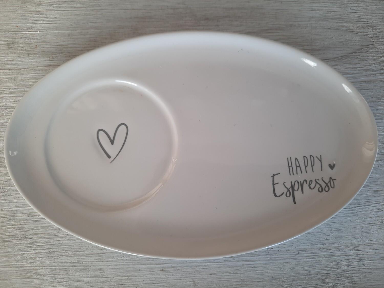 ovaler Unterteller (Espressotassengrösse) von BC