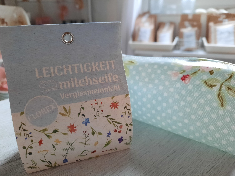 """""""Leichtigkeit"""" Schafmilchseife (fest)"""
