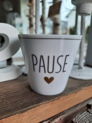 """Espresso-Becher """"Pause"""""""