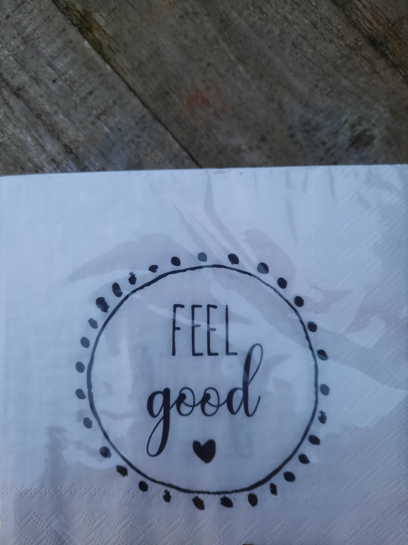 """Servietten """"feel good"""""""