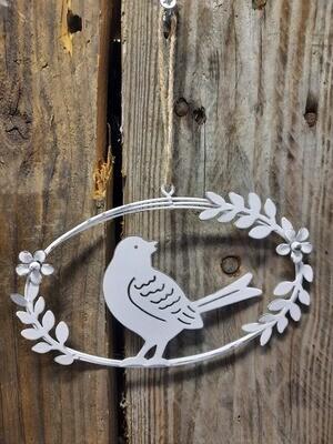 ovales Kränzli mit Vögeli