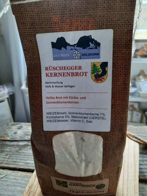 Fertig-Mischung:Rüschegger Kernenbrot aus der Dittligmühle