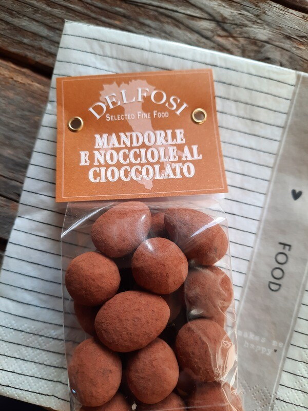 Chocomix aus Mandeln und Haselnüssen
