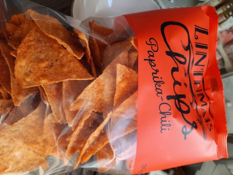 Linthmais-Chips - Paprika-Chili -