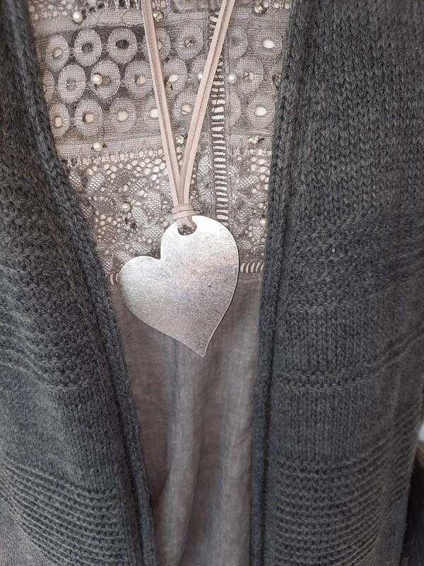 Halskette Leder  mit