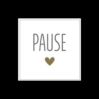 "Papierserviette ""Pause"""