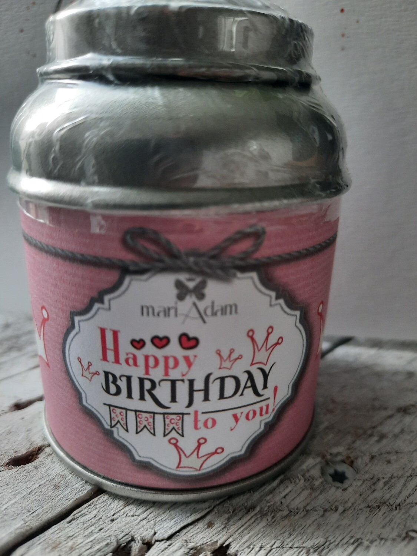 Früchte-Tee Orangenblüte 25 g - happy Birthday