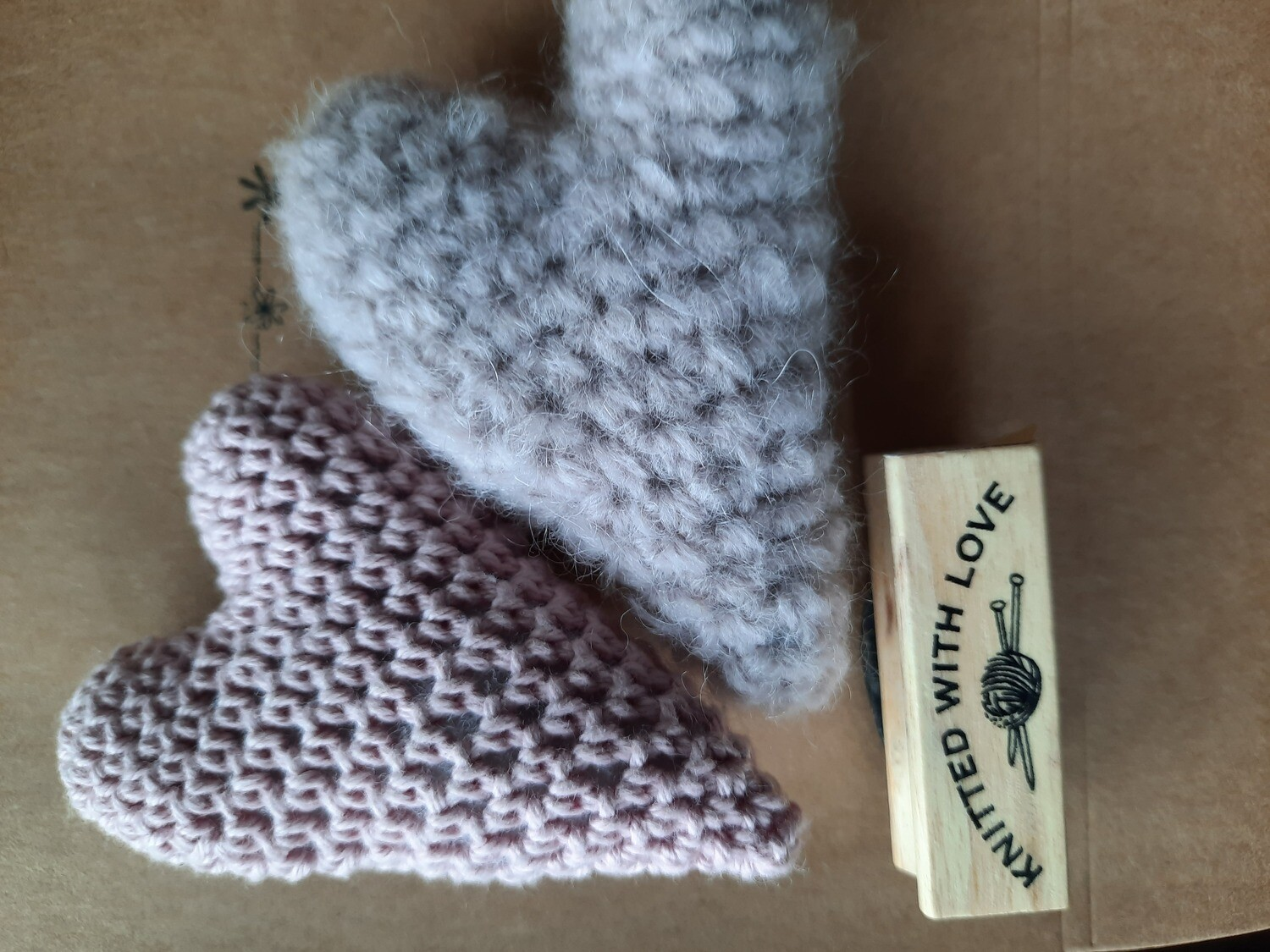 Stempel: knitted with love