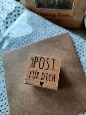 Stempel: Post für Dich