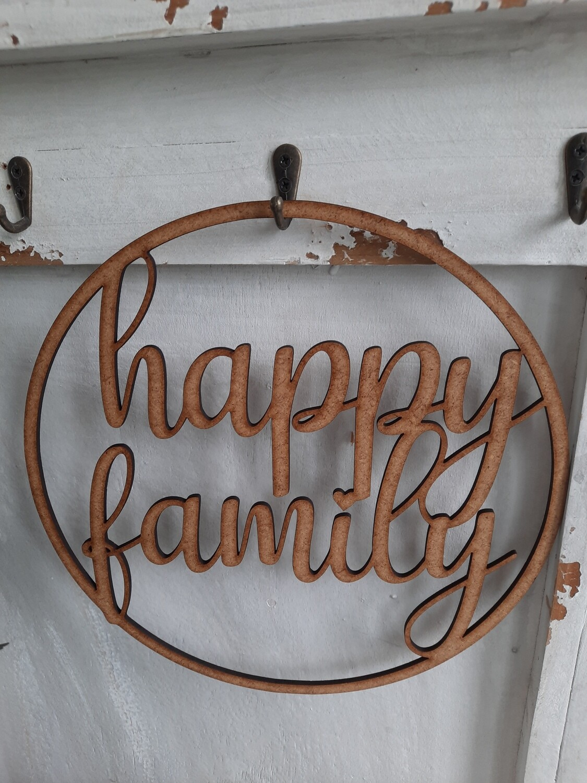 Ring 25 cm - happy family