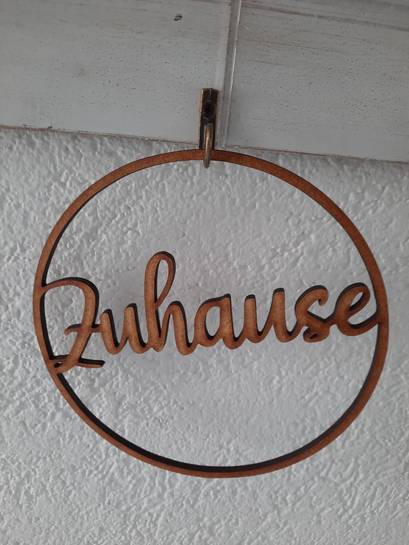 "Ring 15 cm ""Zuhause"""