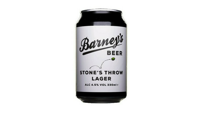 Barney's - 1 x Stone's Throw Lager