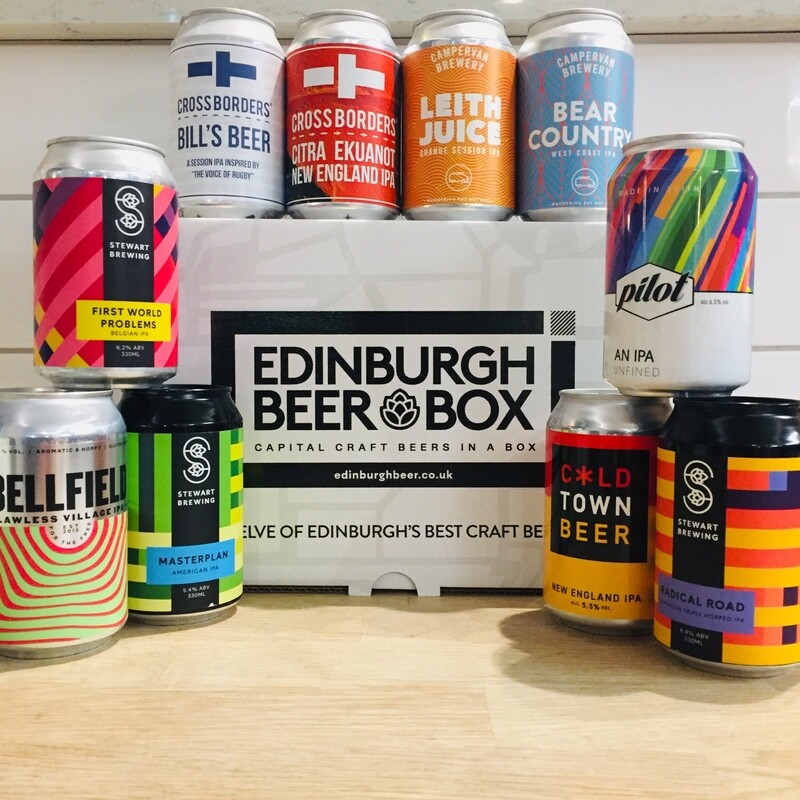 Edinburgh Craft IPAs x 12 MIXED CASE