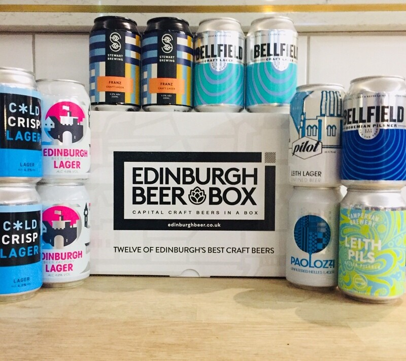 Edinburgh Craft Lagers x 12