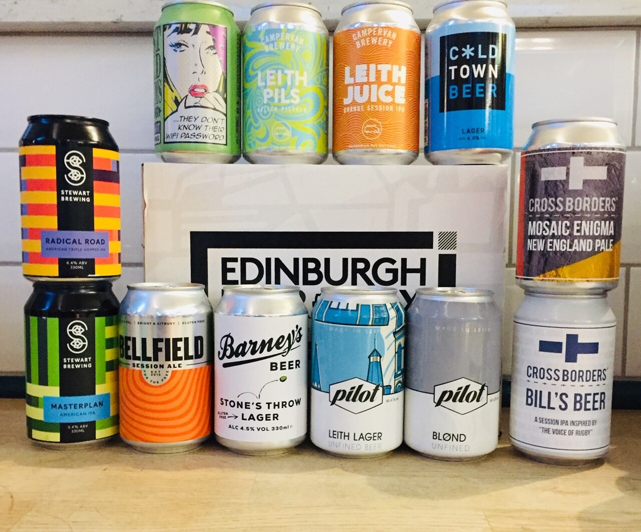 Edinburgh Craft Beers x 24 MIXED CASE (FREE SHIPPING)