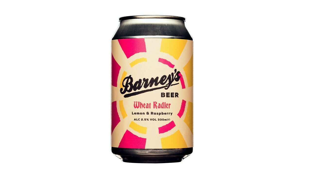Barney's - Lemon and Raspberry Radler