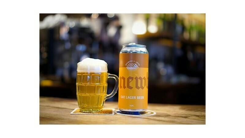 Newbarns - Oat Lager Beer