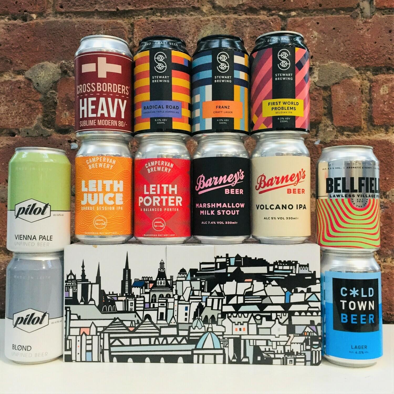 Edinburgh Craft Beers x 12 MIXED CASE