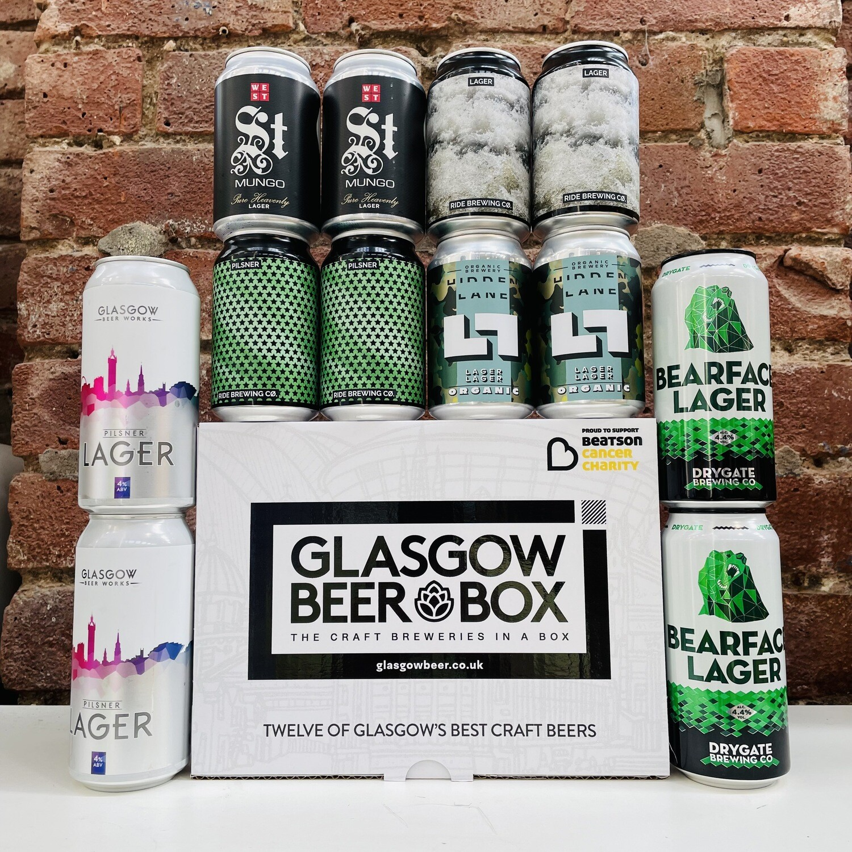 Glasgow Lagers Case x 12