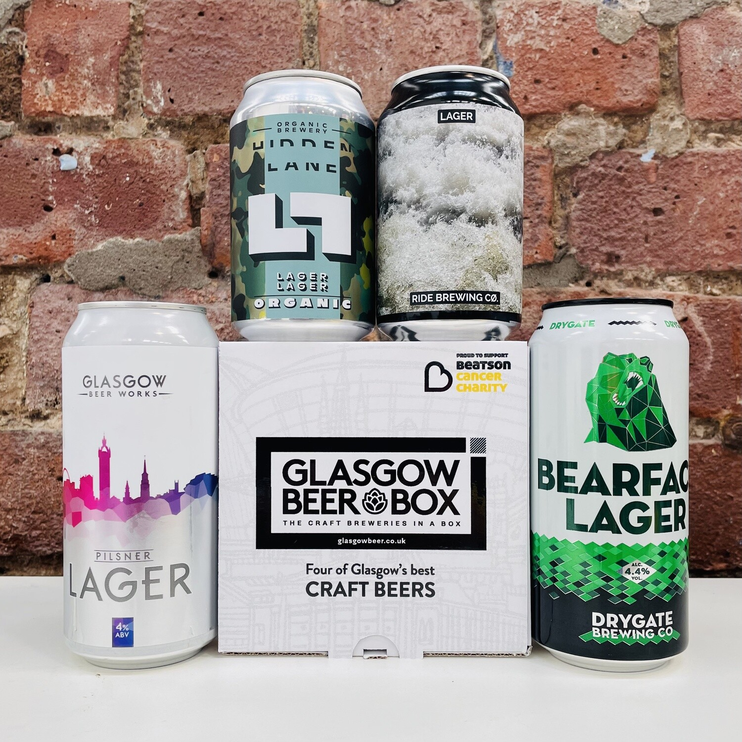 Glasgow Craft Lager 4 pack