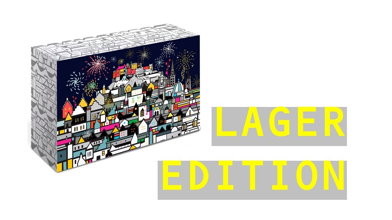 Edinburgh Craft Beer Advent Calendar  (Lager Edition)