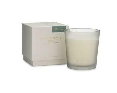 Linnea's Lights Reserve Light White Sage 2-Wick Candle