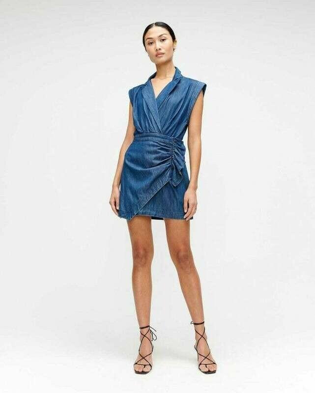 Denim Blazer Dress