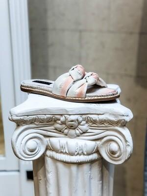Peach Ombre Slide Sandal